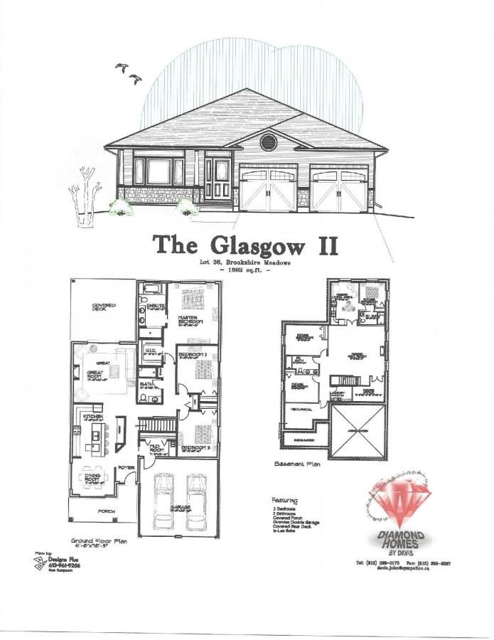 Glasgow1892 Page 001 Diamond Homes By Davis