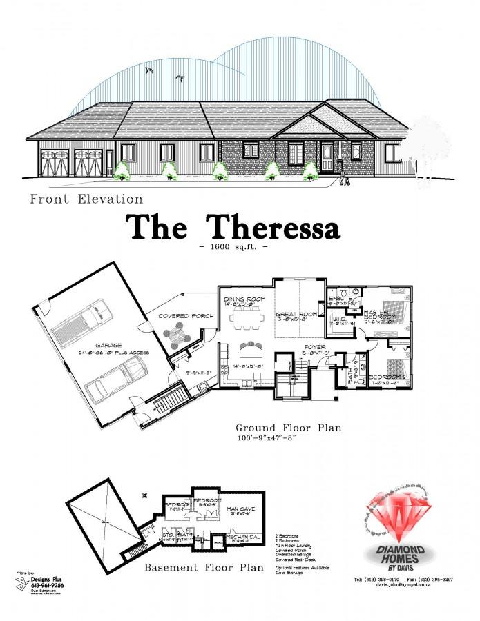 The Theressa Diamond Homes By Davis